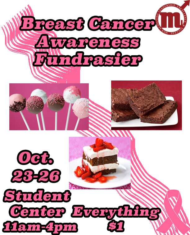 breast cancer awareness bake sale